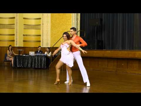 2015 Australian Bachata Championship - Professional Freestyle - Andrew and Lisa