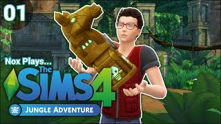 Nox Plays... The Sims 4: Jungle Adventure | Rags to Riches Challenge | Ep. 1: Welcome to the Jungle