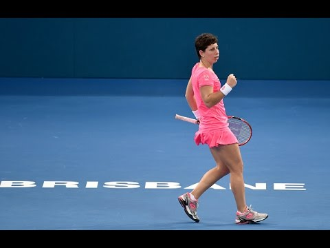 2016 Brisbane International First Round | Carla Suarez Navarro vs Ajla Tomljanovic | WTA Highlights