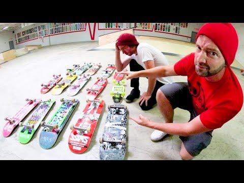You Must Frontside Kickflip Every Skateboard!