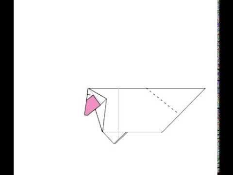оригами для детей овца