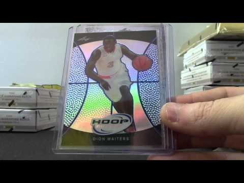 Justin's 2012/13 Leaf Metal Basketball Hobby Box
