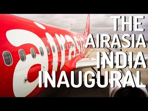 INAUGURAL AirAsia India I51124 : Kochi to Bengaluru