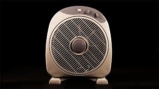 White Noise To Sleep Asmr 1 Hour Box Fan Sound