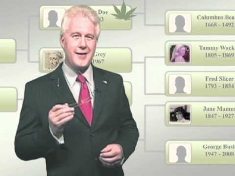 Bill Clinton & George Bush on Ancestry.com