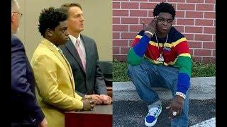 Kodak Black FACES 30 YEARS in PRISON, trial set for April 2019