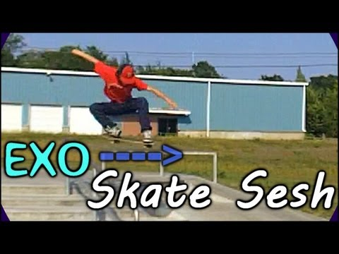 I Suck At Skateboarding! | Attempting To Kickflip Backside Boardslide Down A 6 Stair Handrail