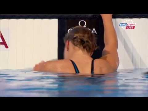 Ruta Meilutyte Wins Women's 100m Breaststroke Final Barcelona 2013