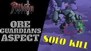 Albion Online | World Bosses | Ore Guardian's Aspect - Solo Kill