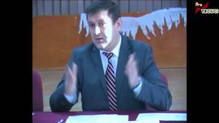 Tecuci - Interdicţie de înregistrare audio-video pentru presa şi excluderea unui consilier