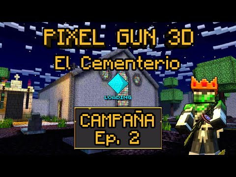 Pixel Gun 3D   Campaña Hardcore Ep. 2 - El Cementerio (Español)