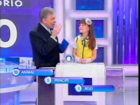 Maria Joaquina E Valeria No Jogo Das 3 Pistas - Prog. Silvio Santos (SBT 2012)
