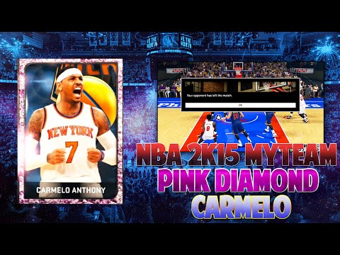 NBA 2k15 MyTeam | Weird Instant Win Glitch | Pink Diamond Carmelo Anthony (Locker Code)