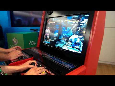 Killer Instinct 2013 Demo match Jago vs Sabrewulf Xbox One