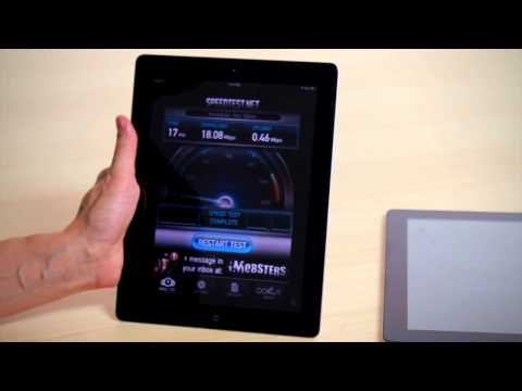 ASUS Transformer Prime vs iPad 2 WiFi Speed Test