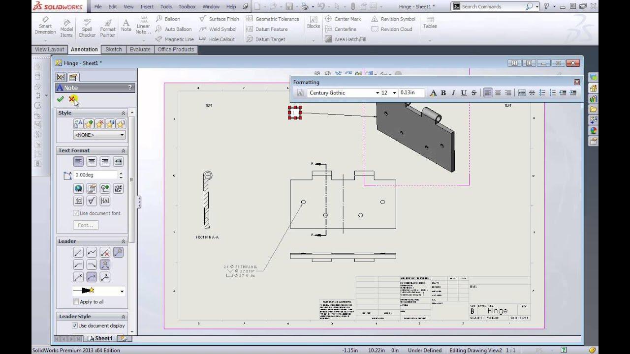 SolidWorks 2013 Fundamentals Annotation, Dimensions
