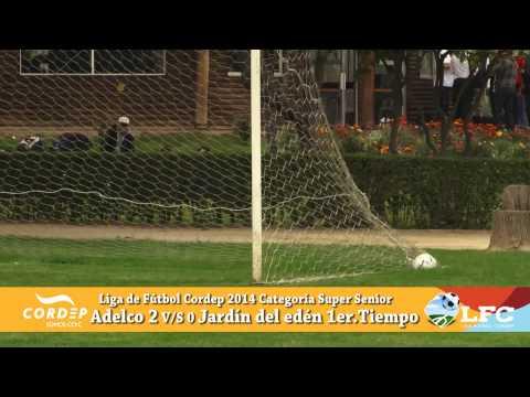 Liga de Fútbol CORDEP 2014 Adelco v/s Jardín del Edén