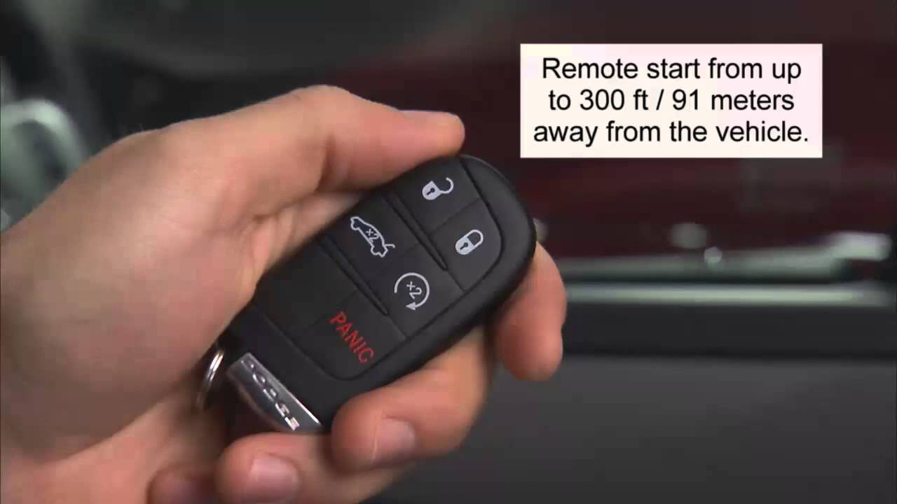 2014 Dodge Charger Key Fob Youtube