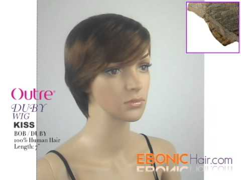 Outre Human Hair Duby Wig Kiss - EbonicHair.com