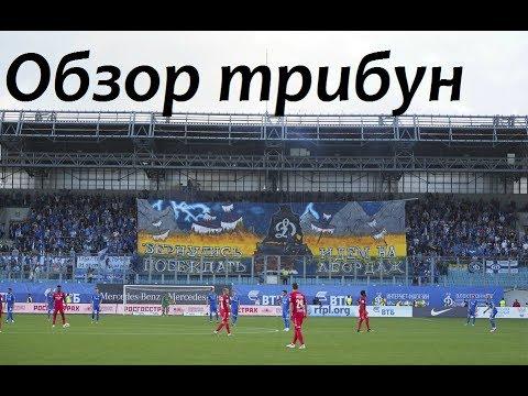 Обзор трибун дерби Динамо-Спартак