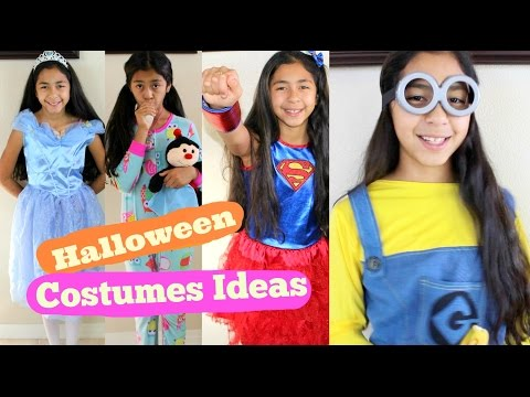 Halloween Costumes Ideas Cinderella Super Girl Snow White Minion Rainbow Dash B2cutecupcakes