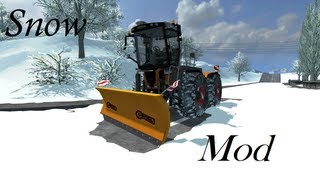Farming Simulator 2013 Snow Mod (Class 3800 Saddle Trac)