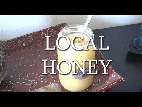 Local   Raw Honey And Bee Pollen