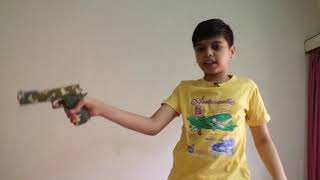 How to work AK 47 and other toys Gun by Nakul