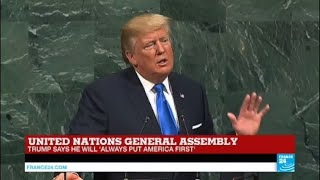 US - Trump calls North Korea's regime