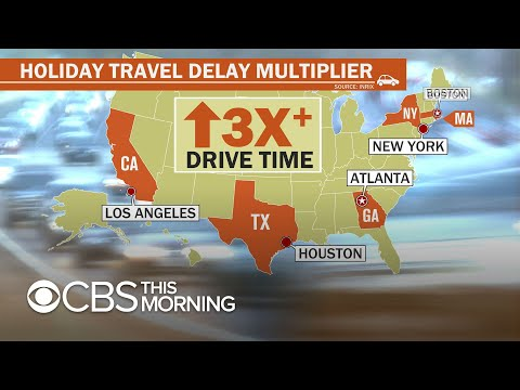 More than 49 million Americans hitting the road for Thanksgiving travel