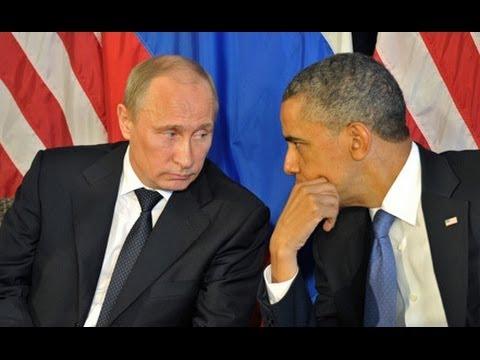 Ответ Путина Обаме на санкции США в отношении России из-за Крыма