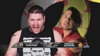 Download War of the Worlds 2014: Kevin Steen vs Shinsuke Nakamura 3Gp Mp4