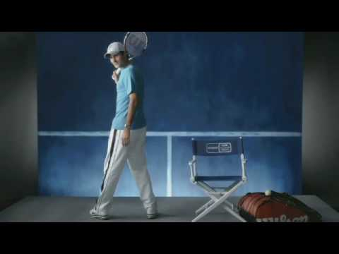 2010 Olympus US Open Series: Roger Federer Video