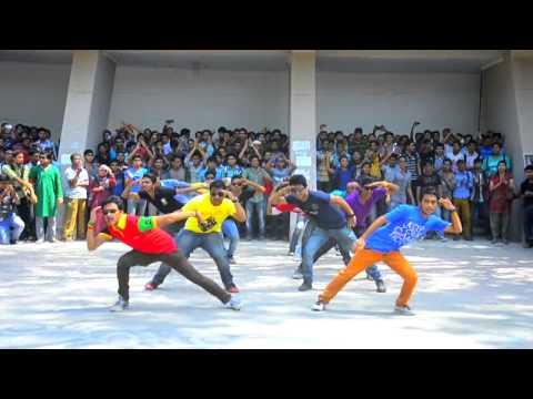 ICC World Twenty20 Bangladesh 2014 Flash MOB (Official) Rajshahi University