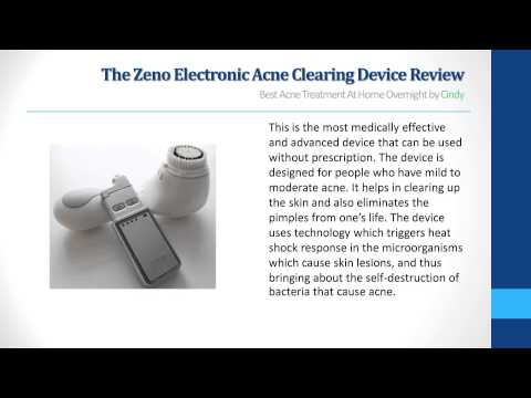 Zeno Electronic Acne Clearing Device Review