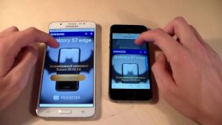 Samsung Galaxy J7 2016 vs iPhone 5S (HD)