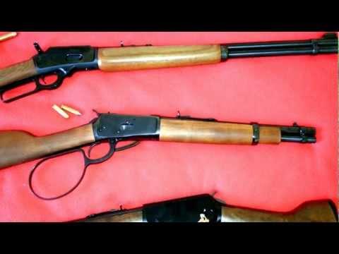 COWBOY LEVER GUNS!  MARLIN .44 HENRY .22 ROSSI .357 MARES LEG