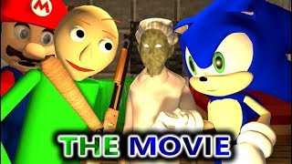 GRANNY VS BALDI & SONIC CHALLENGE THE MOVIE! (official) Minecraft Horror Game Full Animation Video