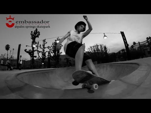 Embassador Skateboards: In The Park @Palm Springs Skatepark
