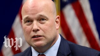 What Matthew Whitaker has said about Hillary Clinton