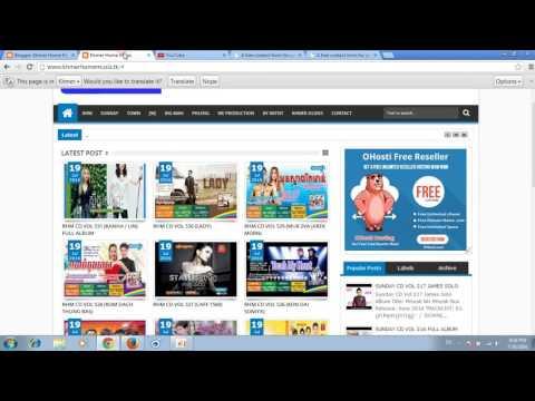 how to create contact us page in blogger - របៀបបង្កើតទំព័រនៅក្នុងការទាក់ទង - Khmer Web Update