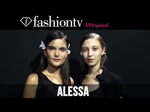 Alessa Summer 2015 Backstage | Fashion Rio | Fashiontv video