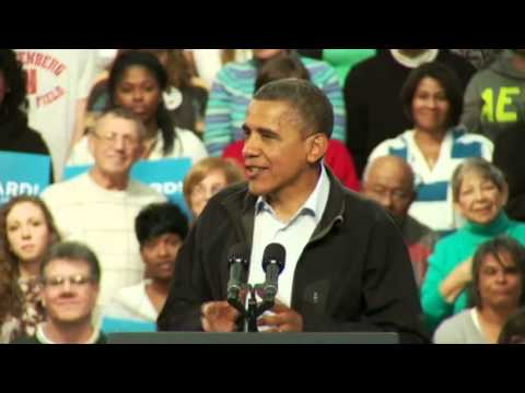 President Obama in Springfield, OH - Full Speech 11/2/2012