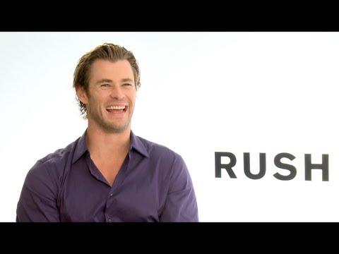 RUSH Interviews: Chris Hemsworth, Daniel Bruhl, Olivia Wilde And Ron Howard