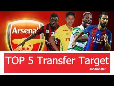 Arsenal - Top 5 Transfer Target in Summer 2017   HD