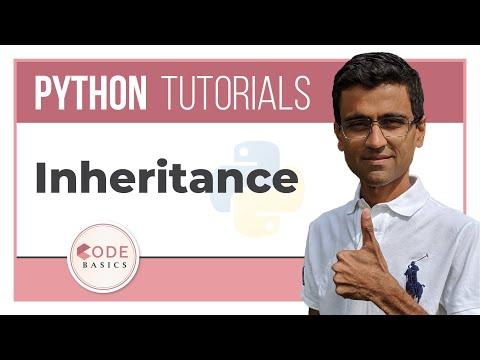 Python Tutorial  - 18. Inheritance