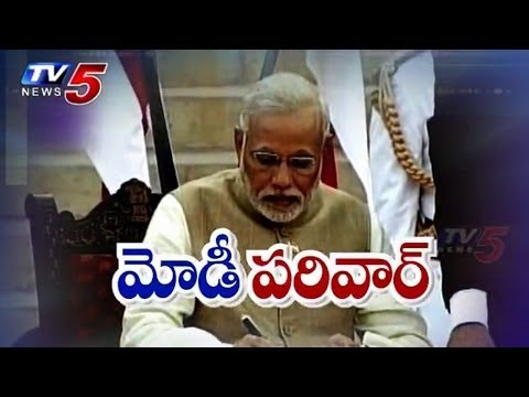 His time starts now | Narendra Modi sworn in as India's 15th PM : TV5 News