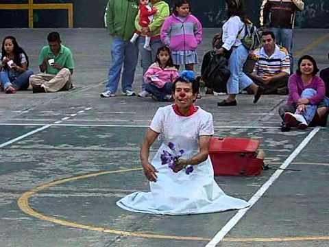 Payasos y Mimos en Coyoacan Parte 7: Carlos Miguel Sanchez