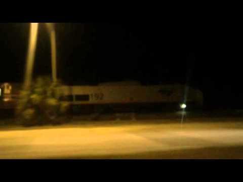 Pacing Amtrak 92 Yukon; to Post McDuff