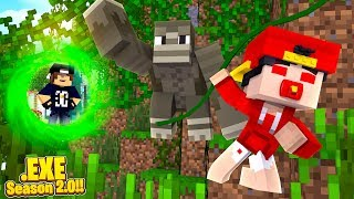 Minecraft .EXE 2.0 - JACK SENDS BABY ROPO.EXE BACK IN TIME TO THE PLANET OF THE APES!